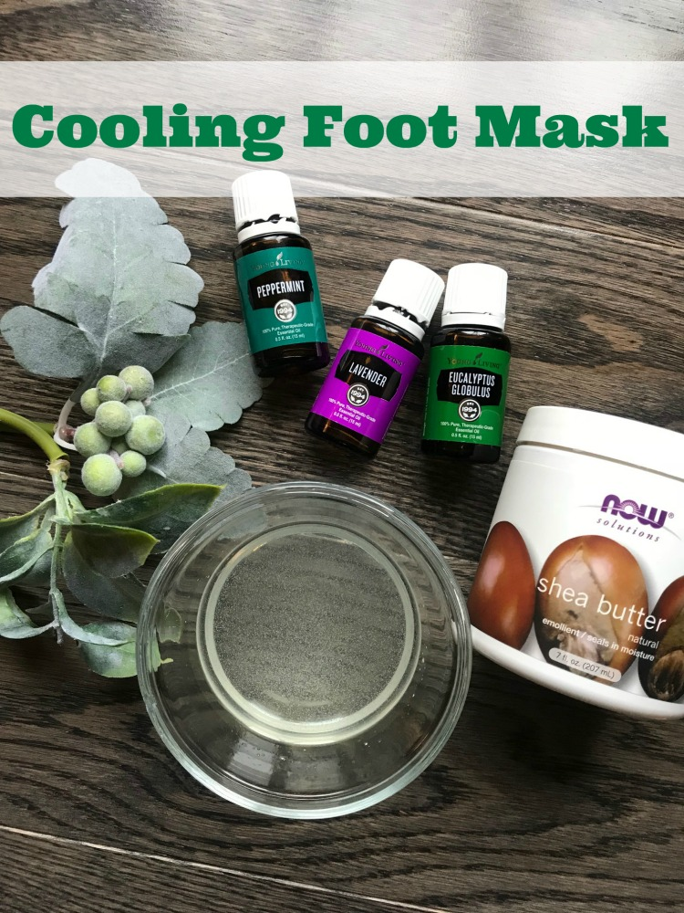 homemade foot mask