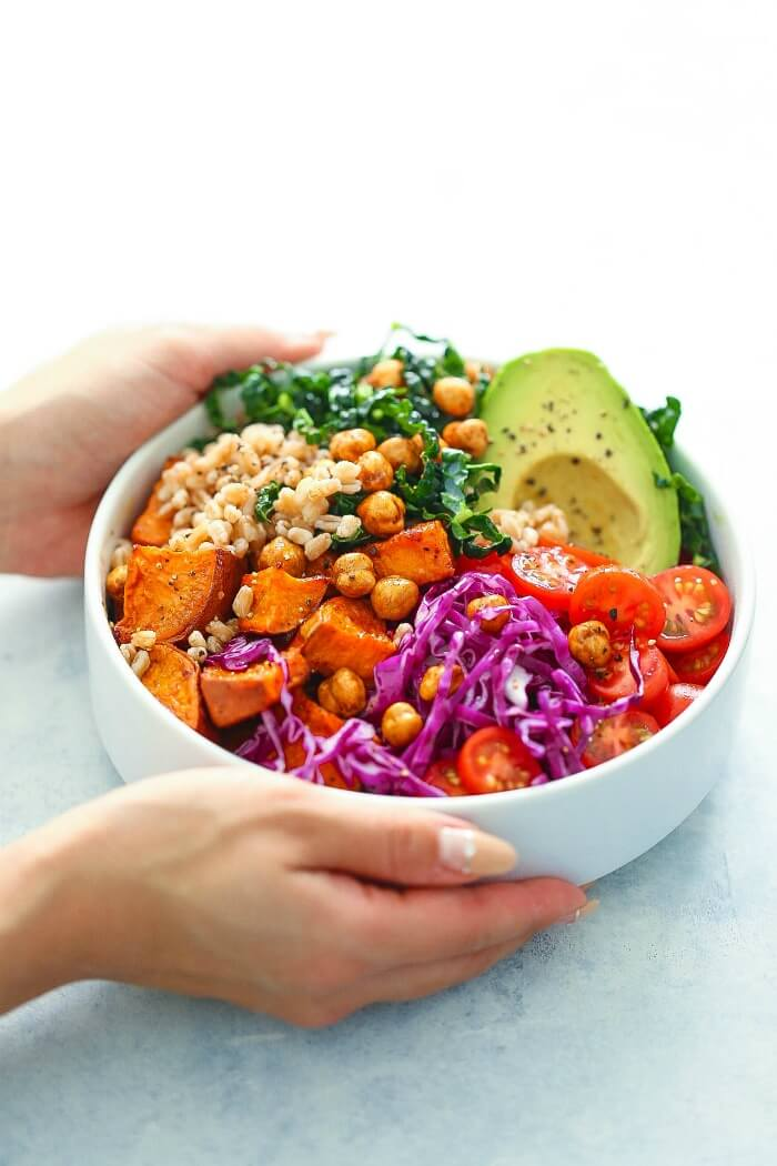 Sweet Potato Nourish Bowl Recipe