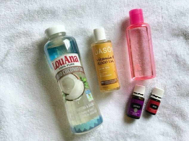 how to make body oil
