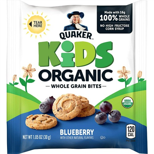 organic whole grain bites