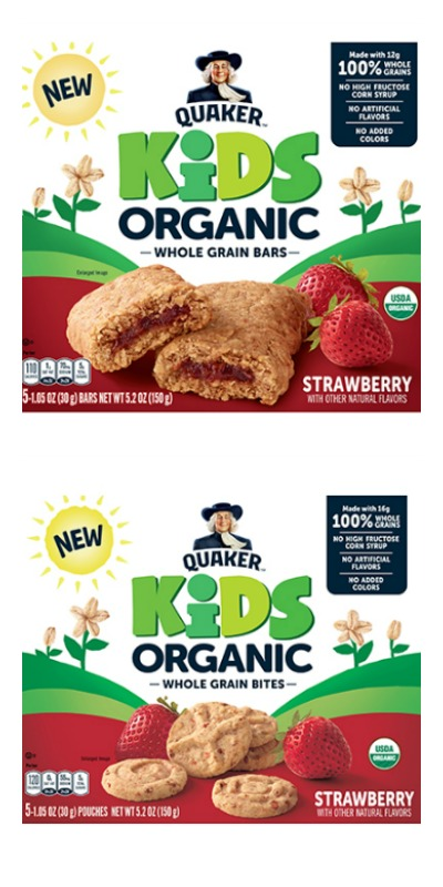 whole grain snacks organic
