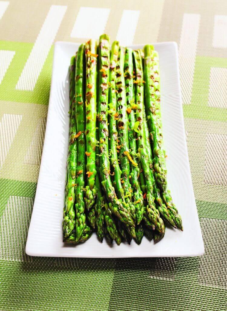 Citrus Oven Roasted Asparagus Recipe