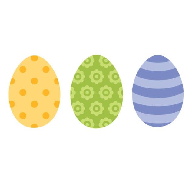 free Easter Eggs printable