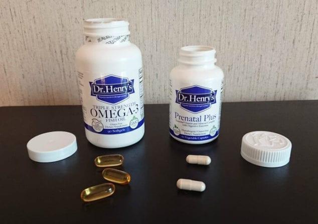 prenatal vitamins with DHA