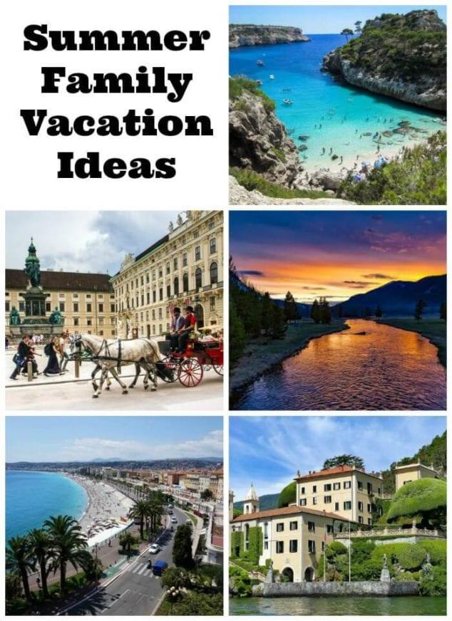 summer family vacation ideas