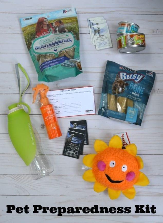 diy pet preparedness kit