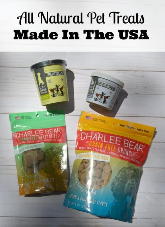 pet treats made in the USA