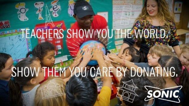 Sonic Teacher Appreciation
