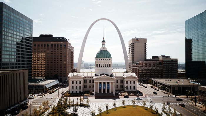 st. louis summer vacation