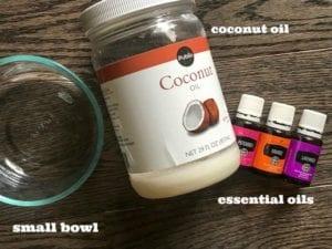 essential oils calming