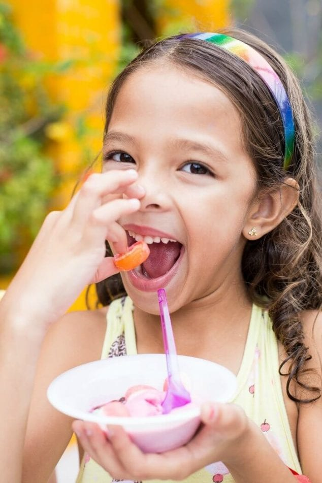 kids ice cream party