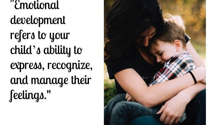 emotional development early childhood