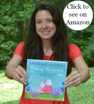 Sharing Stories Grandparents Journal