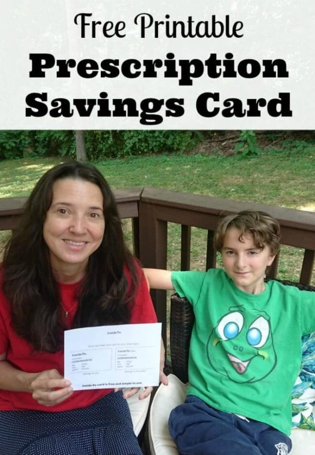 free prescription savings card